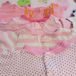 Disney One Pieces - GIRL 0- 3 MONTHS - BUNDLE OF 10